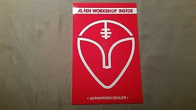 "New Alien Workshop Inside ""Authorized Dealer"" Sticker"