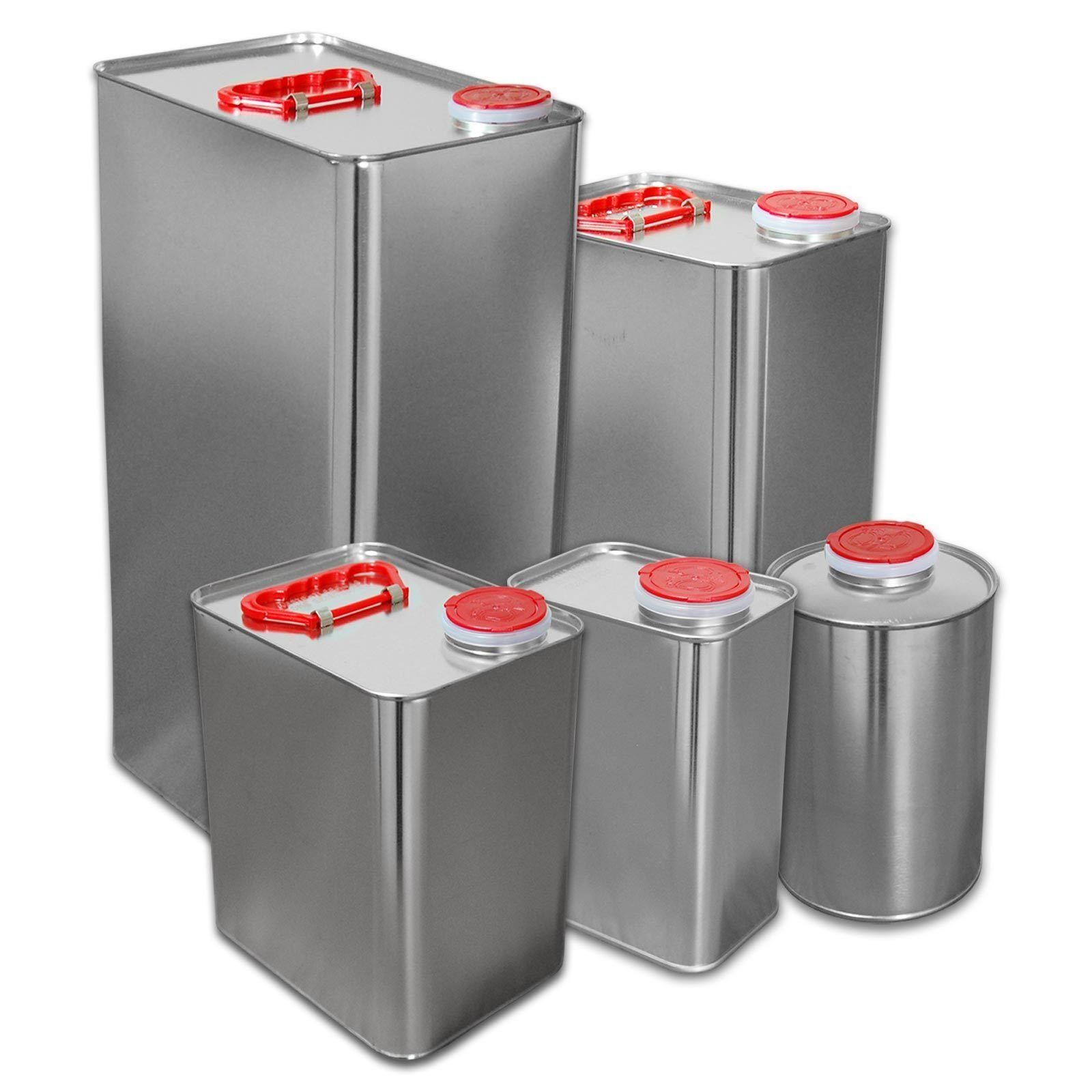 Blechkanister mit Zulassung Kanister Metallbehälter Metallbehälter Metallbehälter Weißblechkanister 45457e