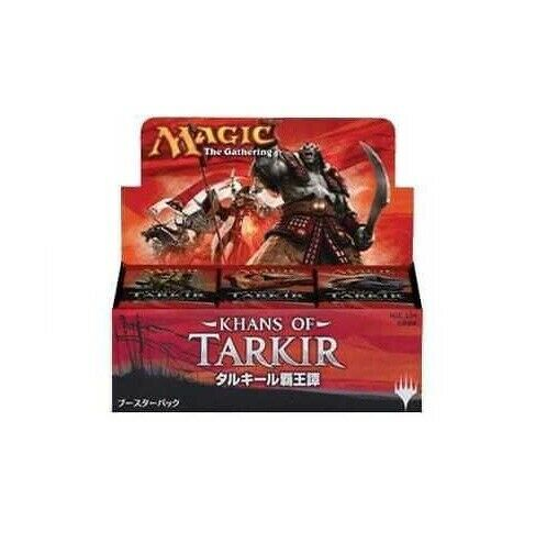 Khans of Tarkir Japanese Booster Box Sealed NEW US Seller MTG MAGIC