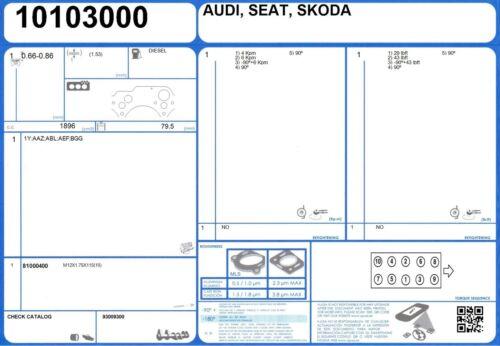 10103000 Genuine AJUSA OEM Replacement Cylinder Head Gasket Seal
