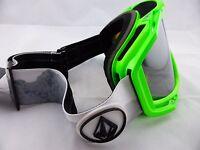 Electric Rig Snow Goggles V Co-lab - Bronze/silver Chrome + Bonus Lens
