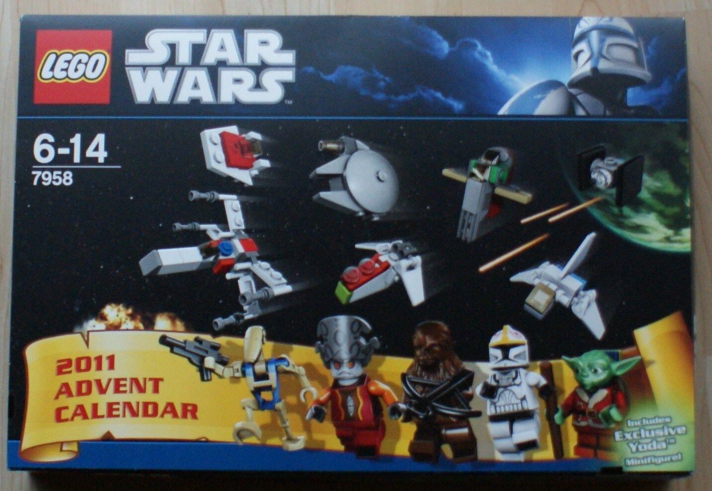 Lego - Star Wars - 7958 - Adventskalender 2011 - NEU - KOMPLETT - OVP