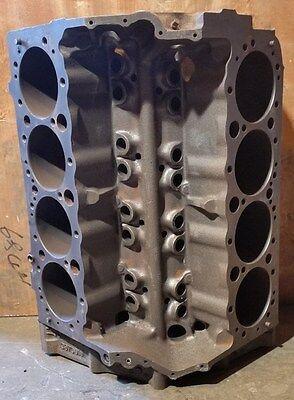 Chevrolet 5.7 350 80-85 Engine Block # 14010207 - 4 bolt main