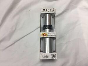 Details about Misto Olive Oil Sprayer Aluminum Cooking Mister Spray Pump  Fine Bottle Kitchen