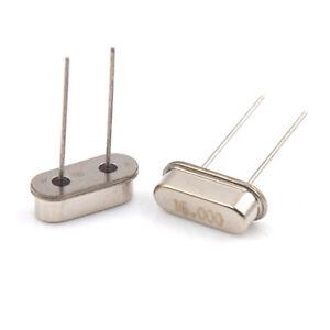 10Stück Quarz Quarze Crystal Oscillator DIP HC49S 4-40MHz Arduino