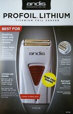New Andis Profoil Lithium Titanium Foil Shaver #17150 110/220 Volts FAST Shippin