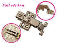 28mm Hydraulic Soft Close Full Overlay Hinge For Cabinet Aluminium Frame Door