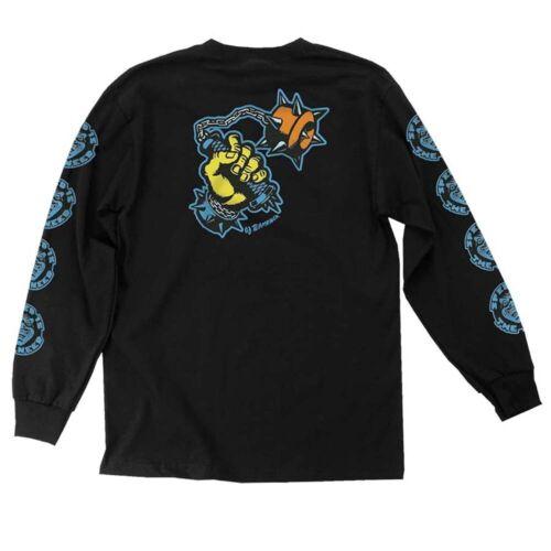 Santa Cruz OJs SPEED IS THE NEED LONG SLEEVE Skateboard T Shirt WHITE XL