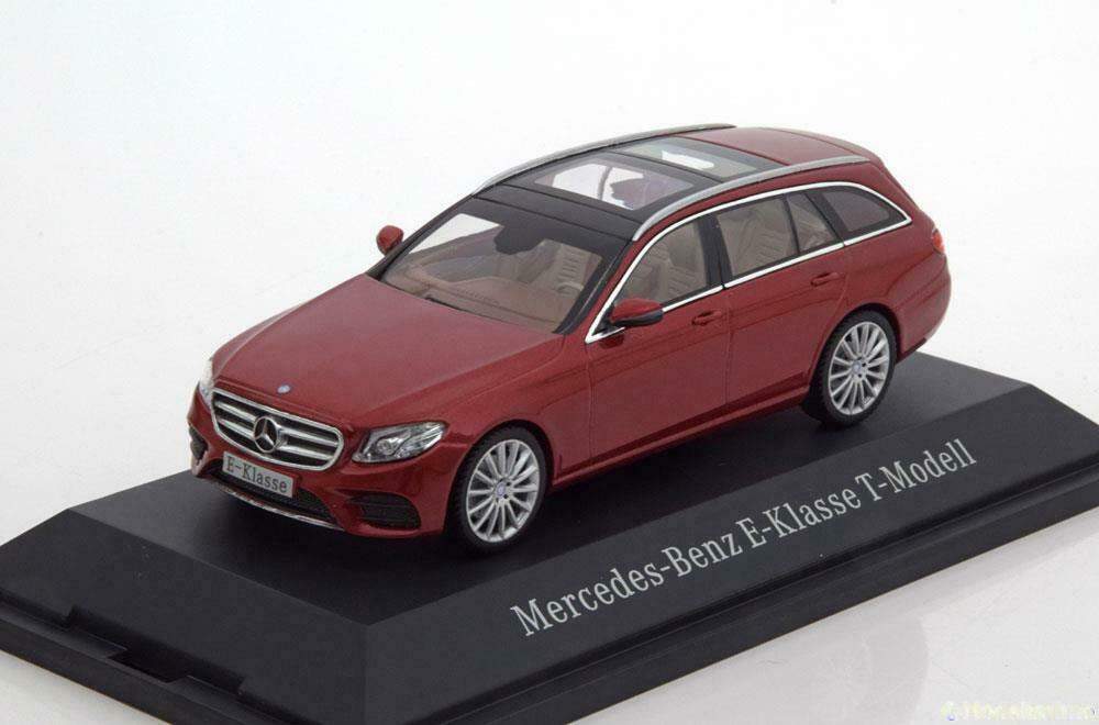 MERCEDES E classe S213 T modelloloL AMG LINE 2016 HYACINTH rosso METAL ISCALE B66960382