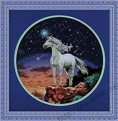 "NEW Cross Stitch Kits"" unicorns """