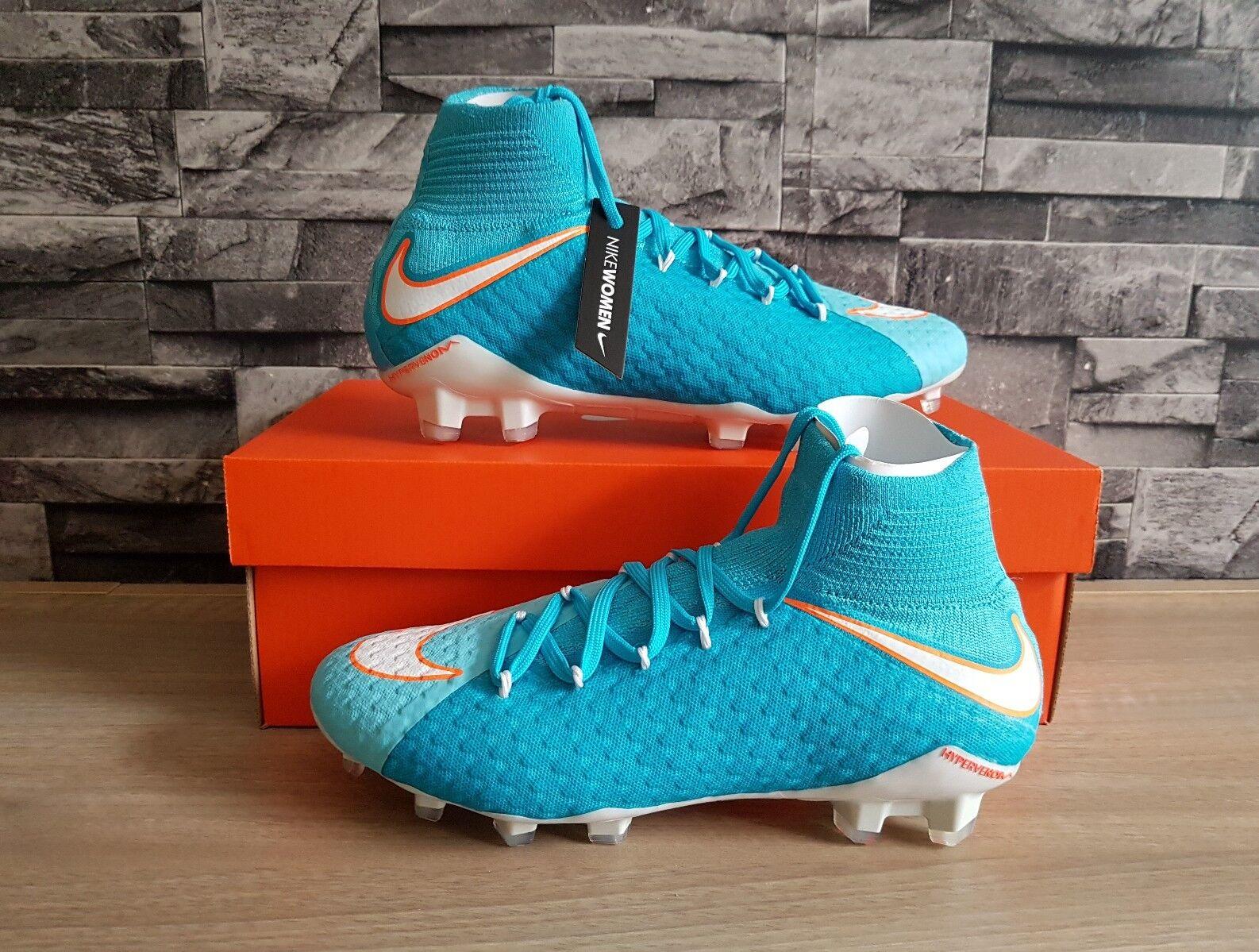 Wmns Nike Hypervenom Phatal III FG botas Tamaño Calcetín DF Talla 5.5 BNWB
