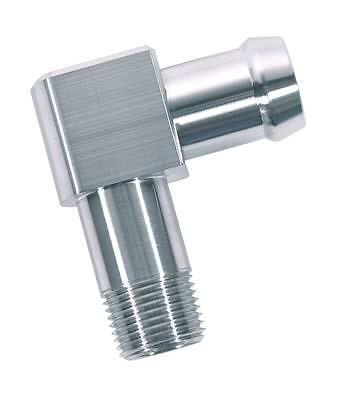 """1048 Stainless Steel 90 Degree Heater Hose Fitting 3//8/"""" NPT to 5//8/"""" Barb PSS"""