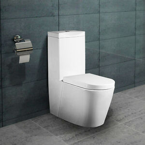 lux aqua stand wc toilette mit sp lkasten nano beschichtung softclose a380 ebay. Black Bedroom Furniture Sets. Home Design Ideas