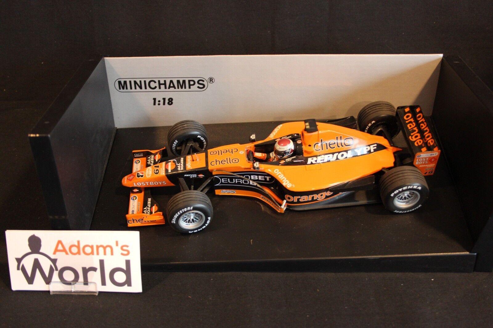 Minichamps Arrows Supertec A21 2000 1 18  19 Jos Verstappen (NED) (MM1)