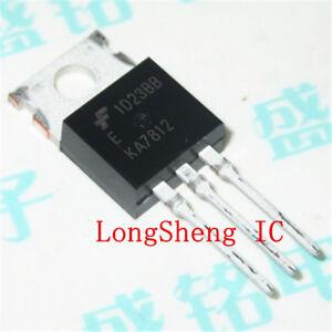 10pcs-KA7812-KA7812ETU-FSC-Transistor-TO-220-NEW