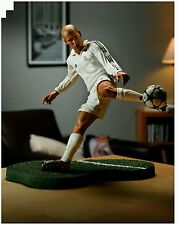 "Ft champs zidane 6 inch action figure mint new in box real madrid 6"" free ship."
