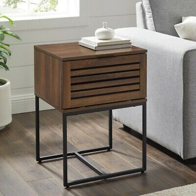 Nena Frame End Table With Storage Ebay