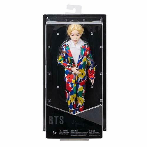 "Jin Mattel BTS Bangtan Boys Collectable 12/"" K-Pop Artist Fashion Idol Dolls"