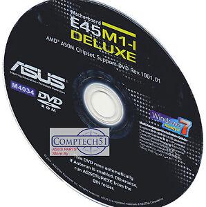 ASUS E45M1-I DELUXE Realtek LAN Drivers for Windows