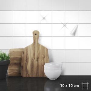 Fliesenaufkleber 10 x 10 cm für Küche, Bad, Dusche langlebig, Farben ...