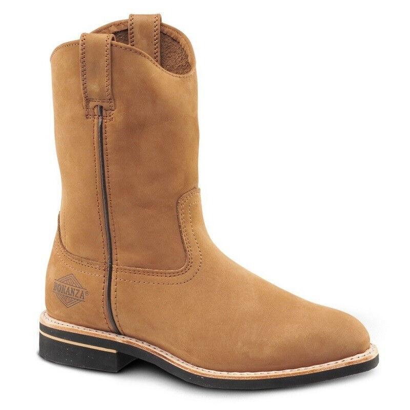 Para Hombre Marrón 10  Roper Nubuck Impermeable botas De Trabajo BONANZA 104 (D, M)