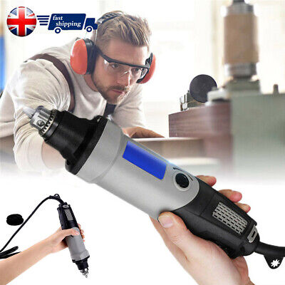 220V 400W Electric Die Grinder Power Drill 6 Variable Speed Rotary Power Tool