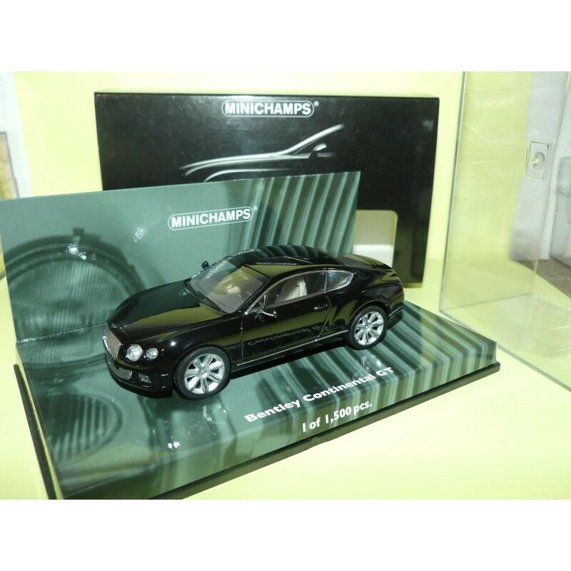 BENTLEY CONTINENTAL GT 2011 Noir MINICHAMPS 1 43