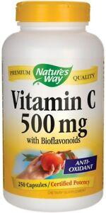 Nature-039-S-WAY-Vitamina-C-500-con-bioflavonoidi-250-TAPPI-GRATIS-P-amp-P