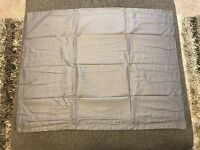 Jcp Home Cotton Classics Reversible Standard Sham 20x26 Light Gray & Gray