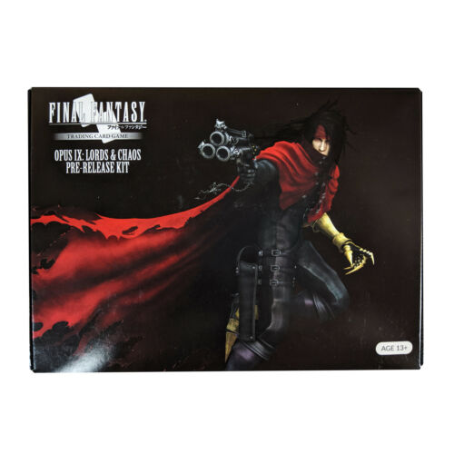 Final Fantasy TCG Opus IX 9 Lords /& Chaos Prerelease kit brand new sealed