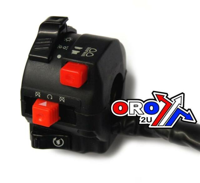 New Universal Motorbike Enduro Starter off Headlight Hi / Lo  Switch Gear QUAD