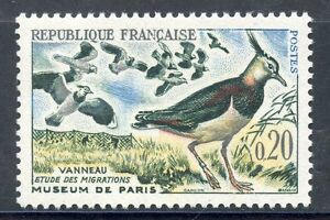 STAMP-TIMBRE-FRANCE-NEUF-N-1273-FAUNE-VANNEAUX-OISEAUX