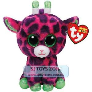 Ty Beanie Boos Regular Gilbert The Giraffe Pink Plush Fun Kids ... 9e976a6573f1