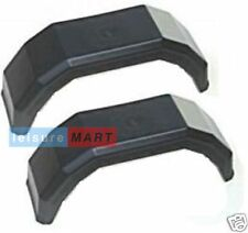 """A pair of 8 inch plastic trailer mudguards suitable for 8"""" wheel rims"""
