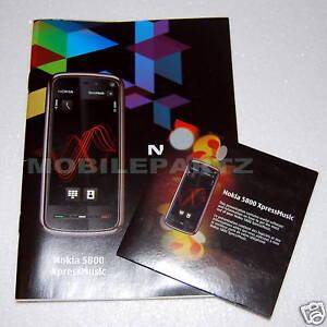 genuine nokia 5800 xpress music user guide manual software cd with rh ebay co uk Nokia 5310 XpressMusic 5810 Nokia Xpressmusic