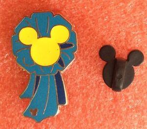 Pins-DISNEY-Medaille-Decoration-Macaron-Bleu-Tete-De-Mickey