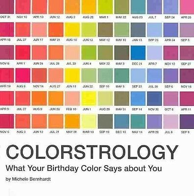 Colorstrology: What Your Birthday Color Says about You by Michelle Bernhardt Pap