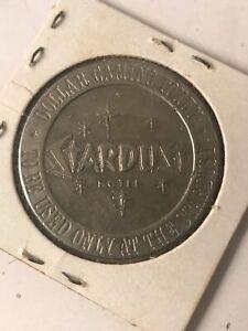 Vtg-STARDUST-CASINO-1-Dollar-Casino-Gaming-Token-1966-Las-Vegas