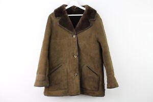 De r930 N Peau Mouton En ° 18 stock Entrepôt de Veste Femme 09 Marron 5 Taille zUxtnR