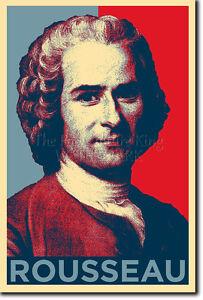 Details About Jean Jacques Rousseau Hope Poster Photo Print Original Art Gift