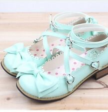 Sweet Lolita Fairy Kei Harajuku Teaparty Shoes