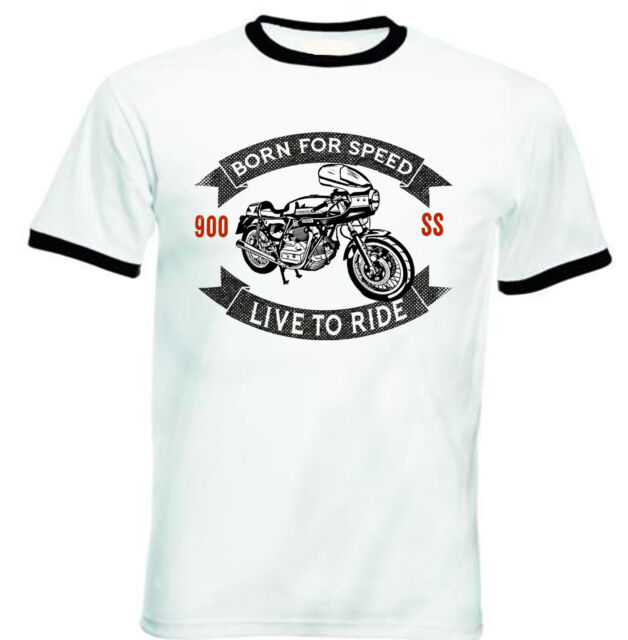 DUCATI 900 SS 2 - NEW COTTON TSHIRT - ALL SIZES IN STOCK
