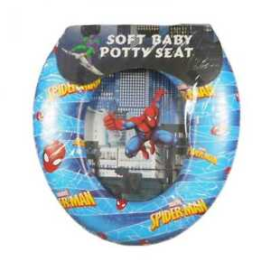 Super Details About Spiderman Kids Soft Padded Potty Toilet Training Seat Evergreenethics Interior Chair Design Evergreenethicsorg