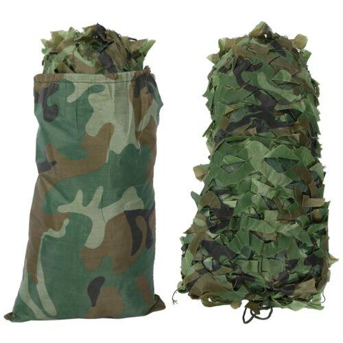 4x5m Woodland Camouflage Camo Net Couverture Camping Filet De Chasse Militaire