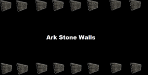 ark survival evolved 100 stone walls pve xbox one official servers