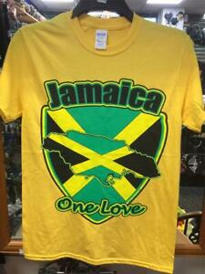 Jamaïque-One Love T Shirt-Jamaïque Rasta Bob Marley