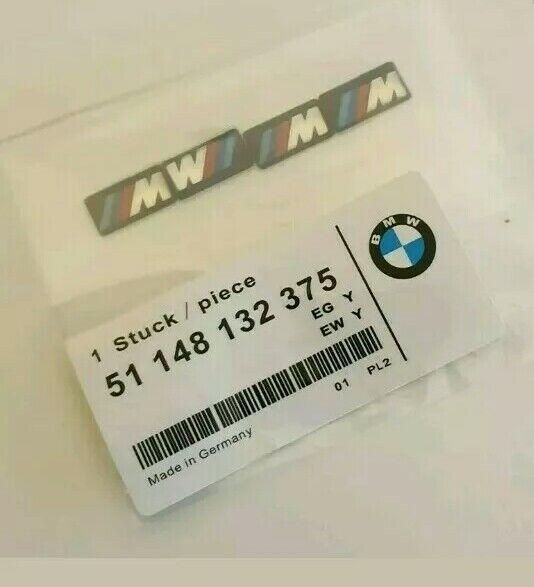 4 BMW M Tec Badge Alloy Wheel stickers Sport 17 18 19