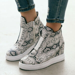 Women-Hidden-Wedge-Heel-Sport-High-Top-Trainers-Casual-Sneaker-Ankle-Boots-Shoes