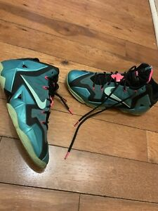 brand new 19e11 86711 Image is loading LeBron-James-XI-South-Beach-Nike-616175-330-