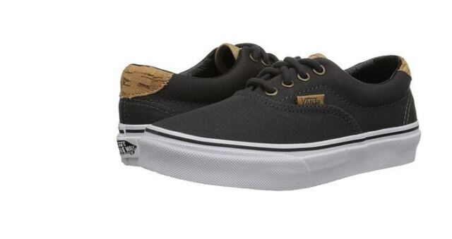 VANS Kids Era 59 Cork Twill Dark Shadow Shoes Canvas Size 11.5 for ... 8b49f4bba